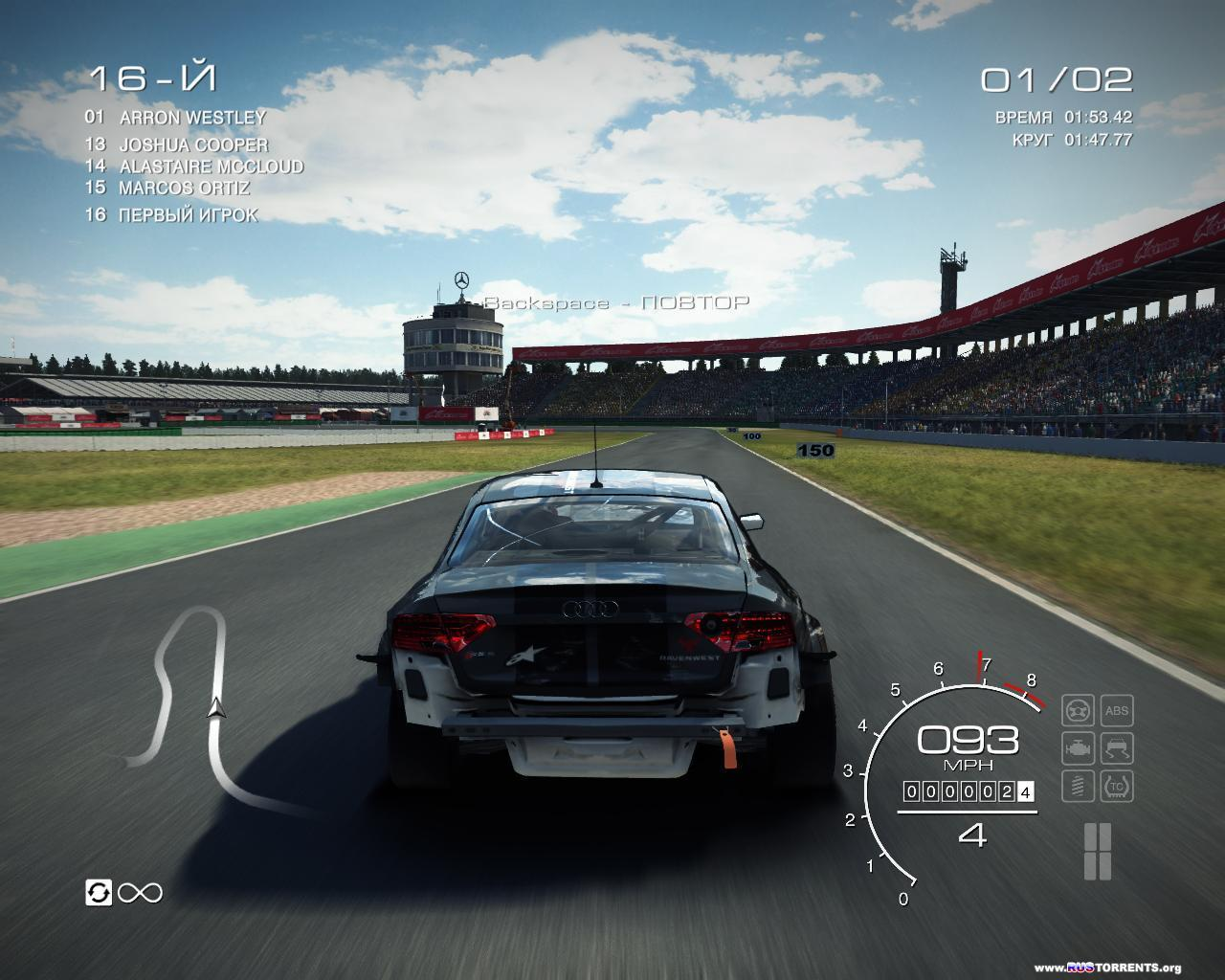GRID Autosport - Black Edition [v 1.0.103.1840 + 11 DLC] | PC | RePack от R.G. Catalyst