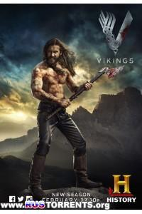 Викинги [02 сезон: 01-10 серии из 10] | WEB-DLRip | LostFilm