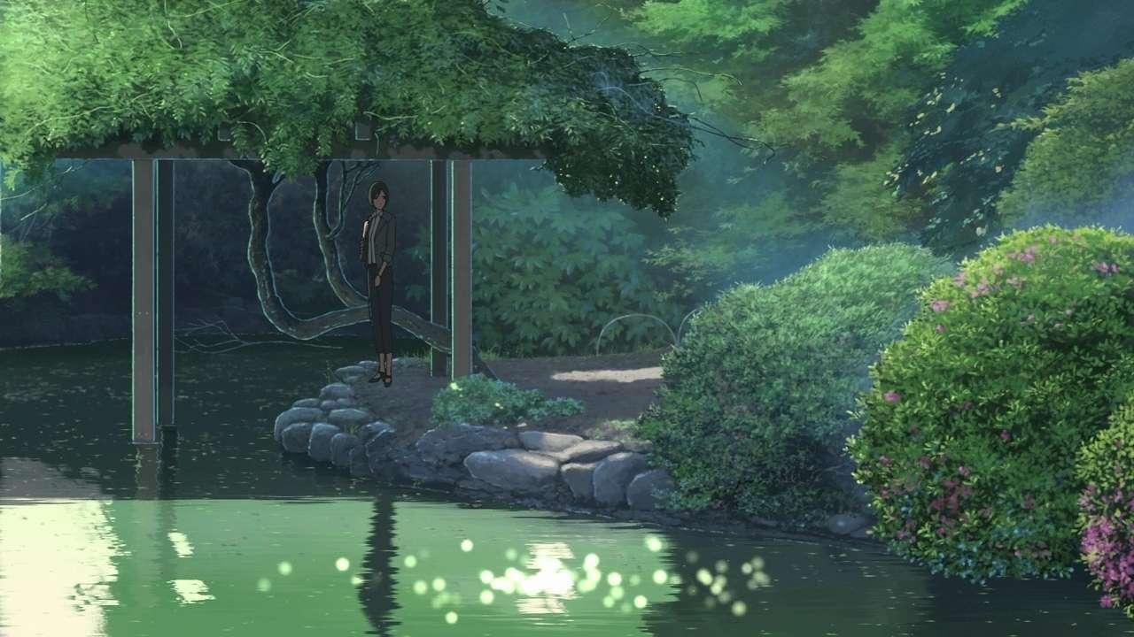 Сад изящных слов | BDRip-720p | D