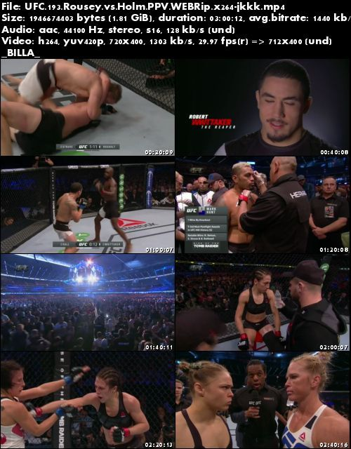 UFC 193 Rousey vs Holm PPV WEBRip x264-jkkk