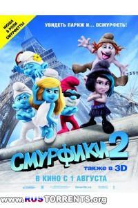 Смурфики 2 в 3Д | BDRip 1080p | 3D-Video | halfSbS