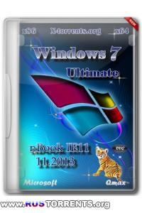 Windows 7 Ultimate Ru x86/x64 nBook IE11 by OVGorskiy 11.2013 2 DVD RUS