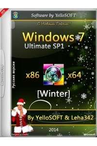Windows 7 Ultimate SP1 x86/x64 Winter by YelloSOFT & Leha342