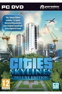 Cities: Skylines. Deluxe Edition | PC | Steam-Rip от R.G. Игроманы