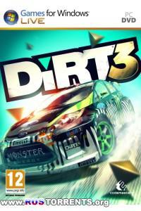 Dirt 3 v 1.2 + 1 DLC | RePack от Fenixx