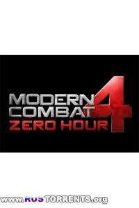 Modern Combat 4: Zero Hour v1.1.7c | Android