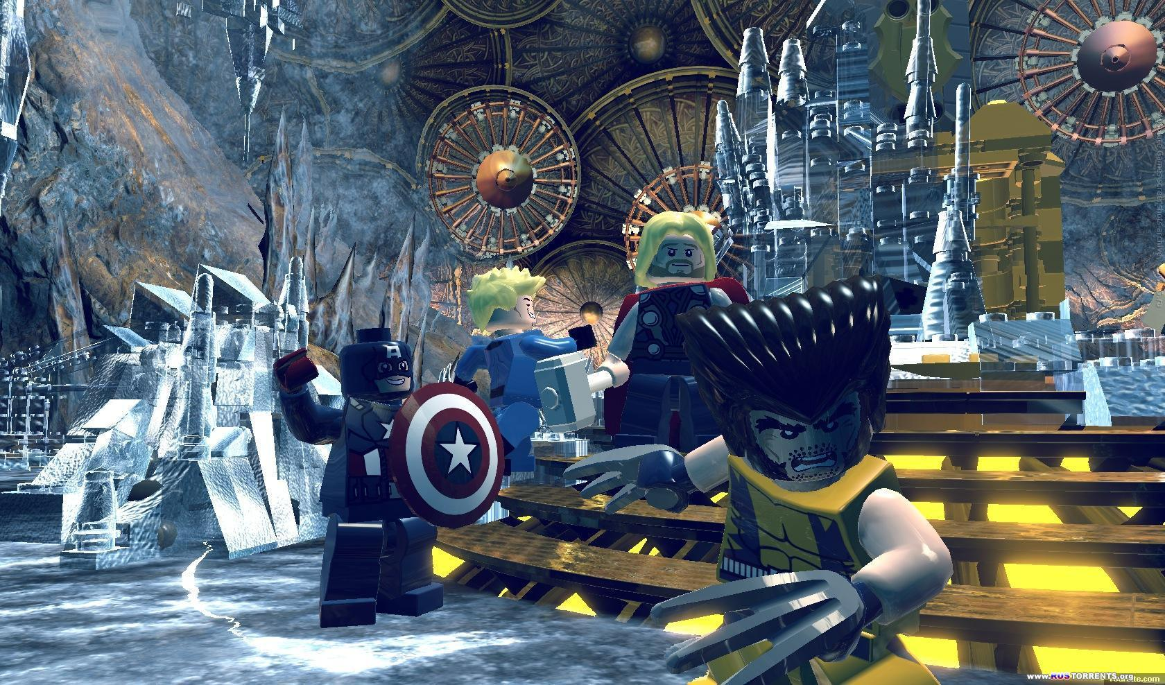 LEGO Marvel Super Heroes | PC | RePack �� R.G. ��������