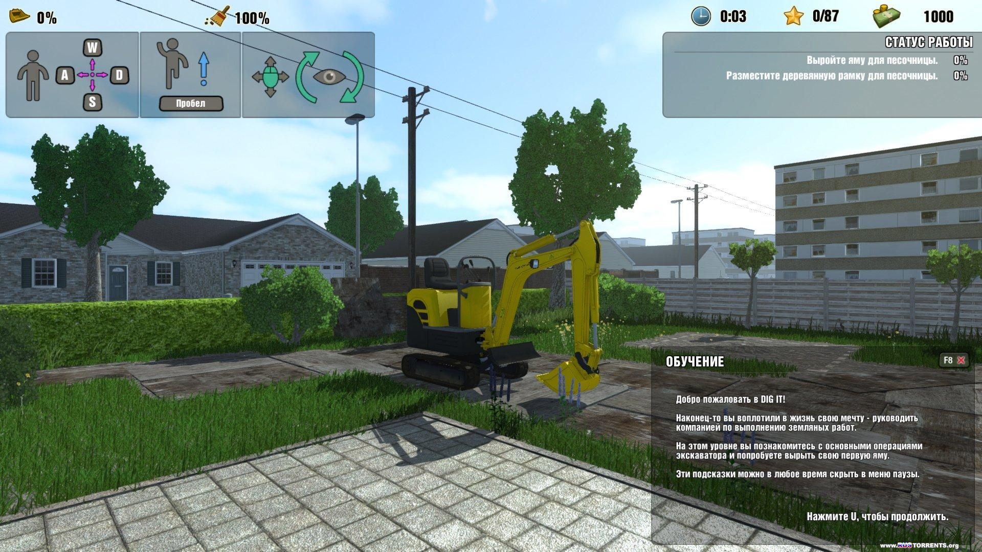 DIG IT! - A Digger Simulator | PC | RePack
