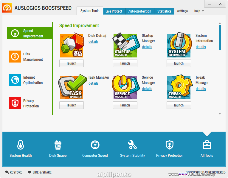 AusLogics BoostSpeed v 6.3.2.0 Fina RePack (+ Portable) by D!akov [Eng]