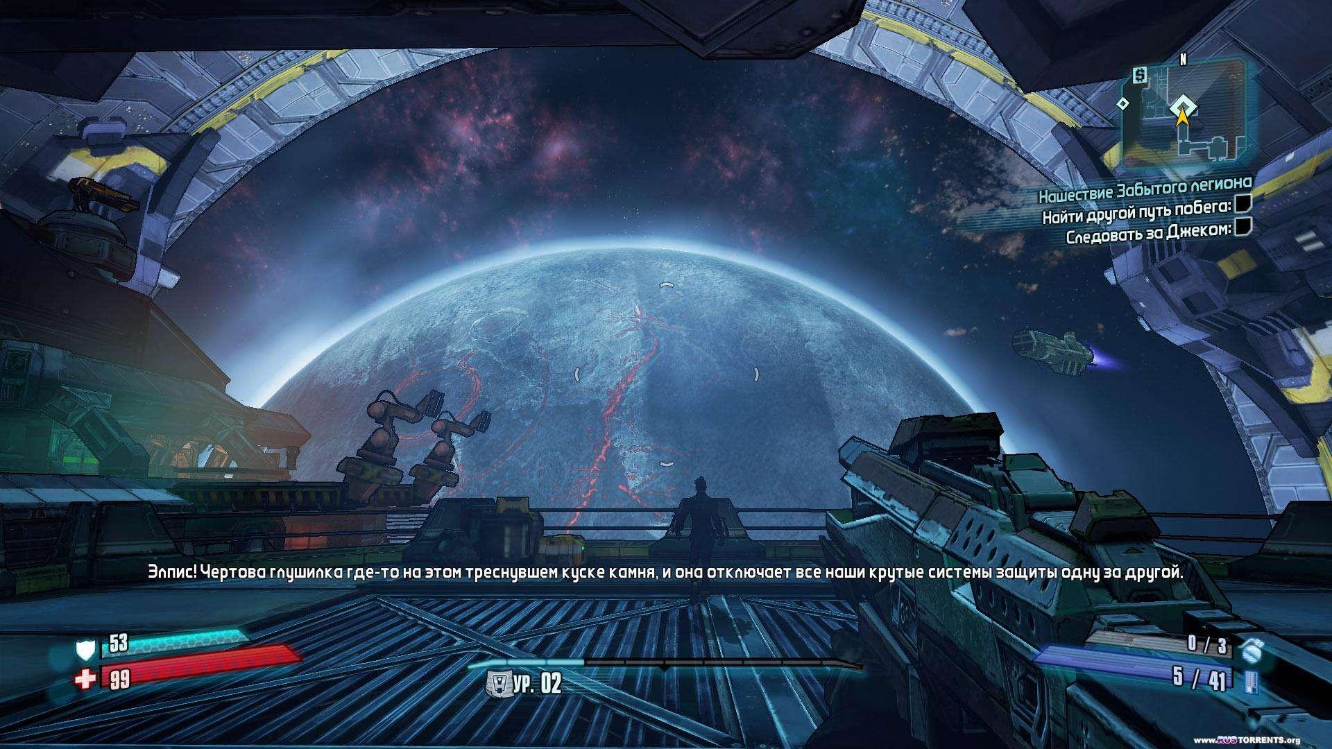 Borderlands: The Pre-Sequel [v 1.0.5 + 5 DLC] | PC | RePack от SEYTER