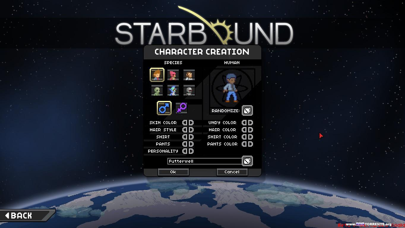 Starbound [Update 7.1] | RePack от Redzz