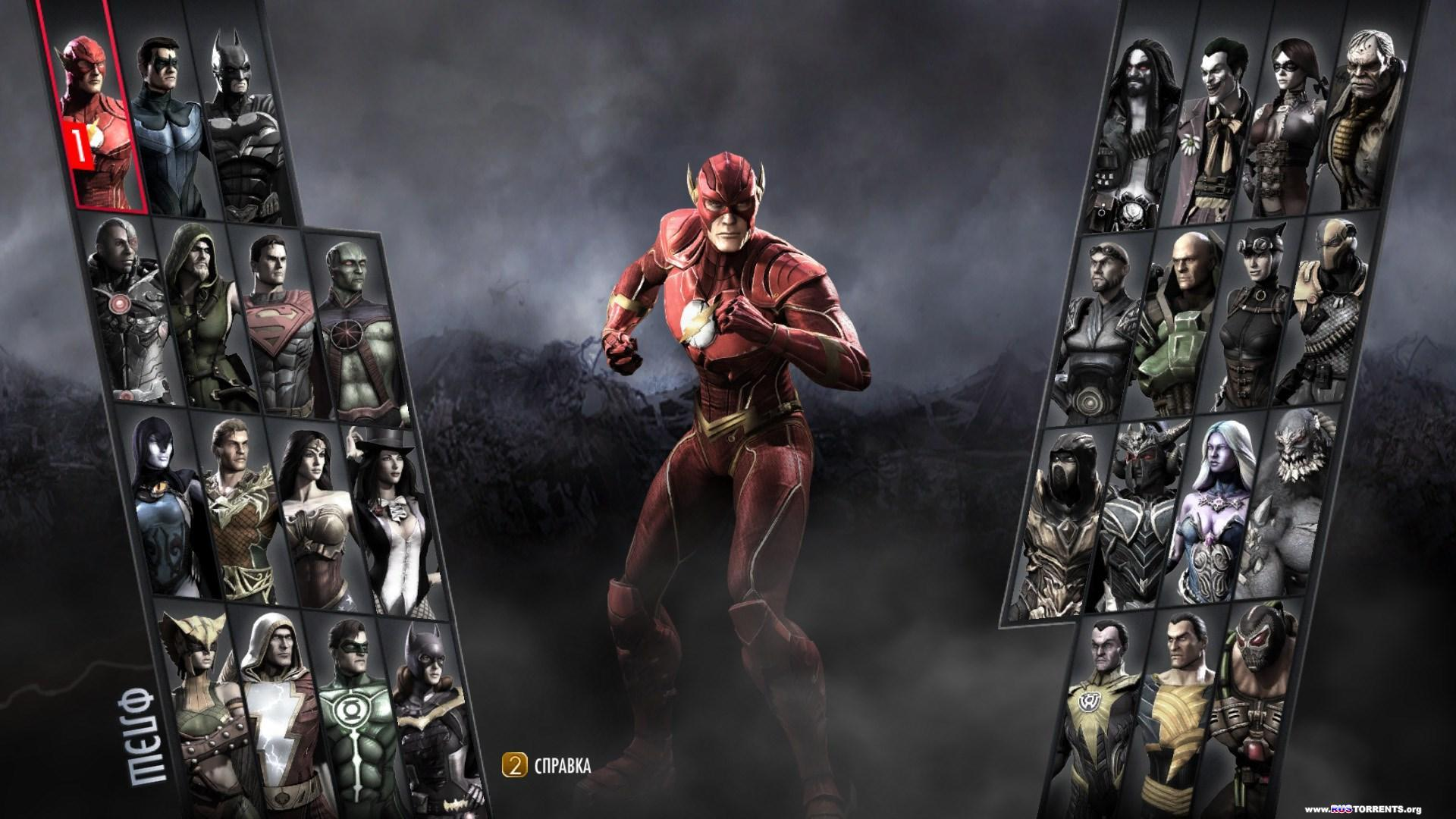 Injustice: Gods Among Us. Ultimate Edition [Update 5] | РС | RePack от R.G. Механики