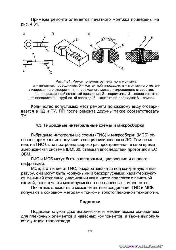 Конструирование и технология электронных средств