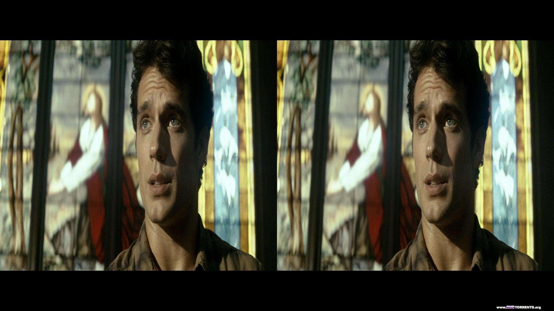 Человек из стали | BDRip 1080p | 3D-Video | halfSbS