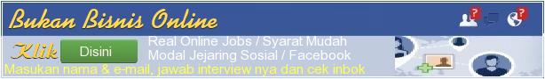 Bisnis Online Modal Facebook, Klik Disini !!!