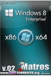 Windows 8 Enterprise x86x64 v.02 by Matros RUS (30.07.2013)