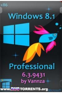 Windows 8.1 Professional 6.3.9431 x86 by Vannza RUS