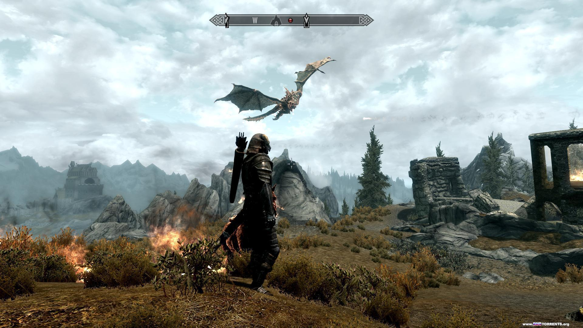 The Elder Scrolls V: Skyrim (Bethesda Softworks - 1С-Софтклаб) (1.9.32.0.8) (RUS-ENG) [Repack] От R.G. Revenants