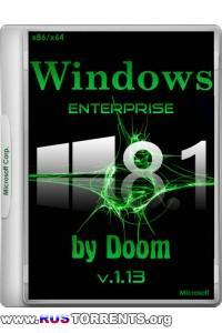 Windows 8.1 Enterprise With Update x86/x64 by Doom v.1.13 RUS