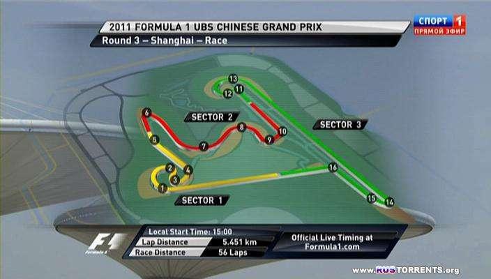 Формула 1 | Сезон 2011 | Этап 3 из 19 | Гран-При Китая.