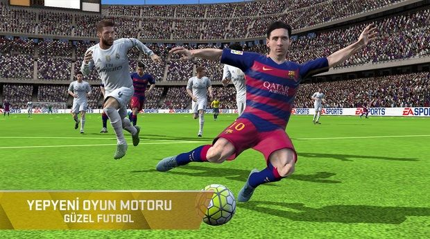 FIFA 16 Ultimate Team v2.1.106618 Hile Mod Apk + Data Indir
