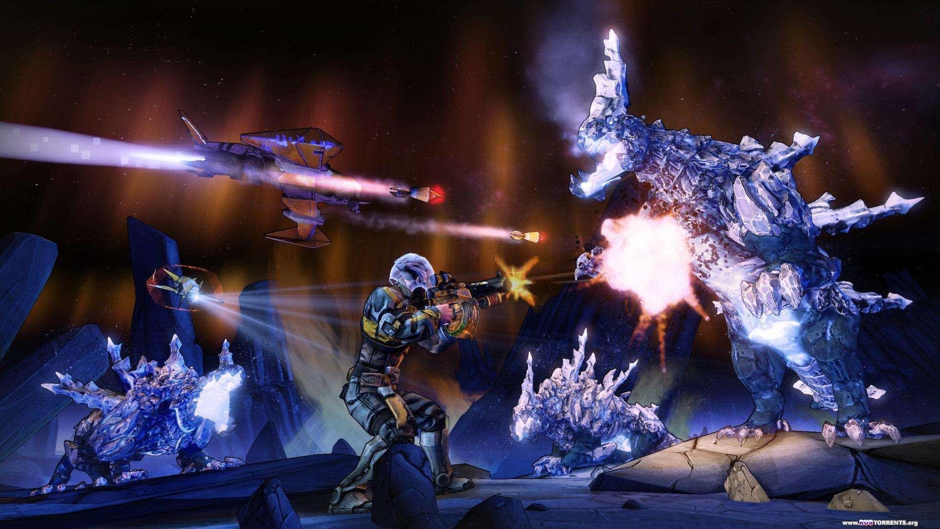 Borderlands: The Pre-Sequel [v 1.0.7 + 6 DLC] | PC | RePack от R.G. Механики