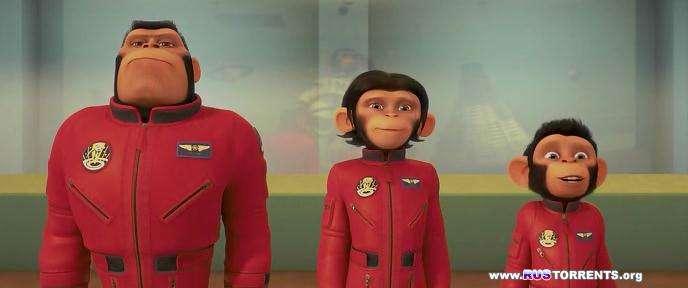 Мартышки в космосе | DVDRip