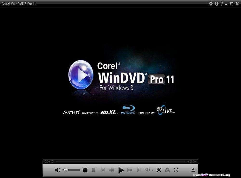Corel WinDVD Pro 11.6.1.4.300981 RePack by KpoJIuK
