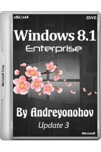 Windows 8.1 Enterprise VL with Update 3 by Andreyonohov (х86/х64) (15.03.2015) RUS