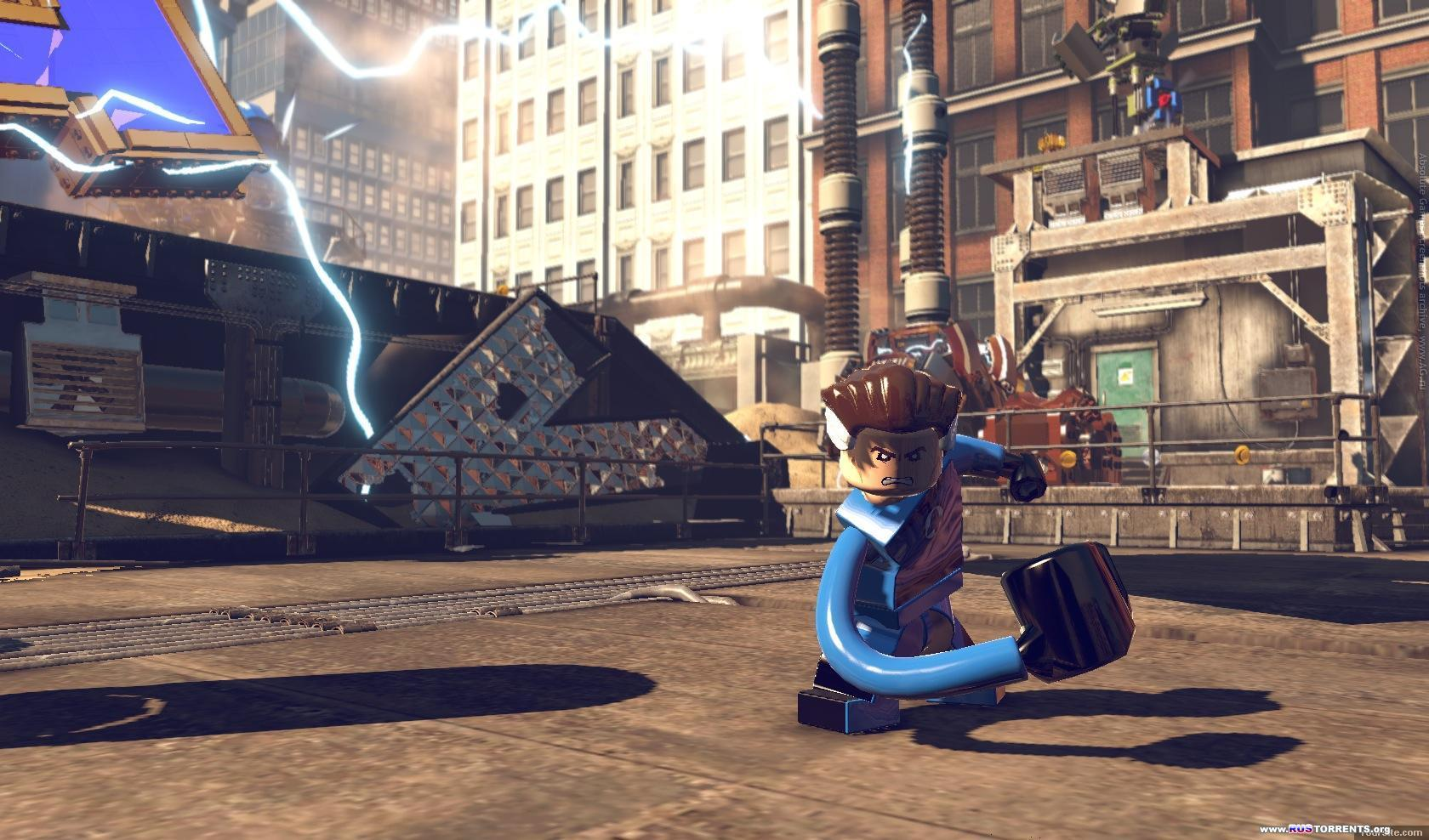 LEGO Marvel Super Heroes [+ 2 DLC] | PC | Repack от R.G. UPG