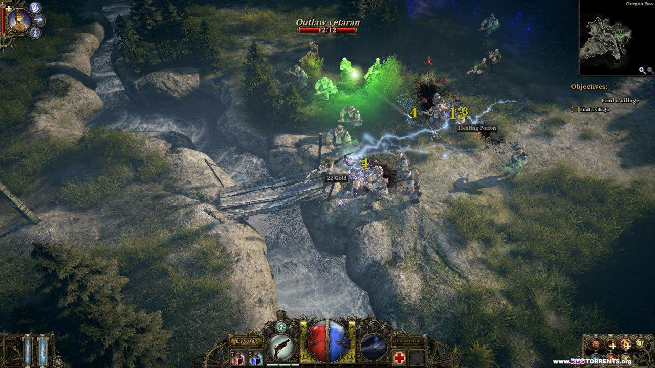 The Incredible Adventures of Van Helsing [v 1.1.06] | PC | RUS | Repack от Audioslave