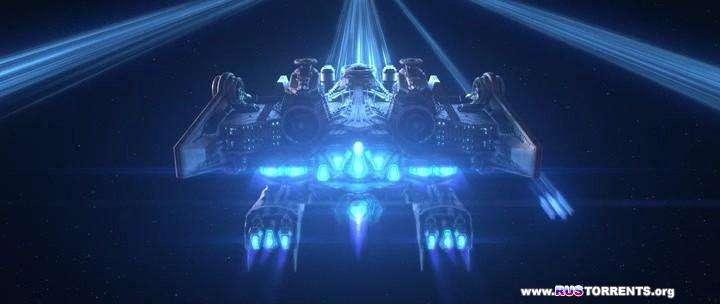 Космический пират Харлок | BDRip 720p | UNRATED | Чистый звук