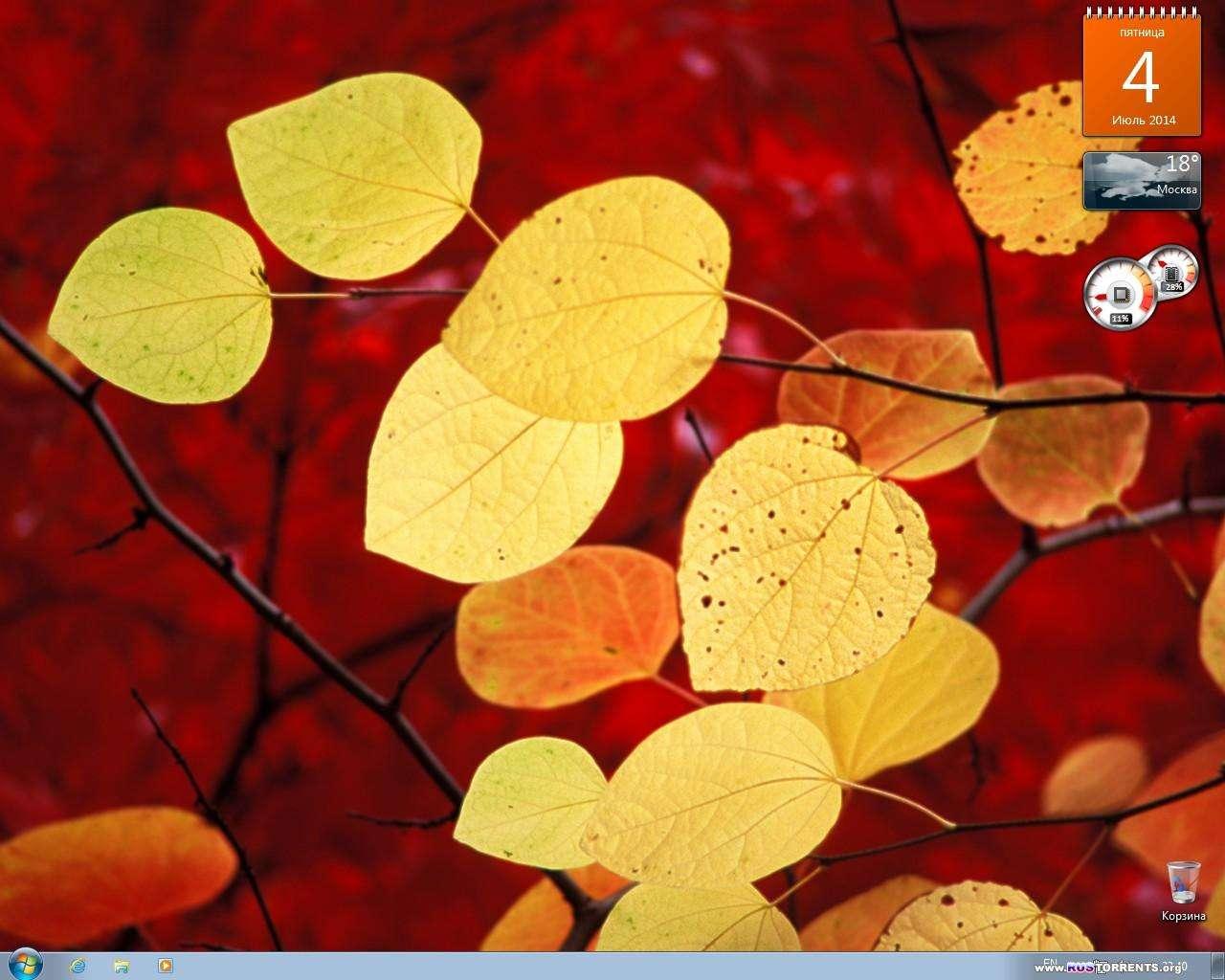 Windows 7 SP1 (x86/x64) + Office 2013 SP1 AIO 26in1 by SmokieBlahBlah 20.06.2014 RUS | PC