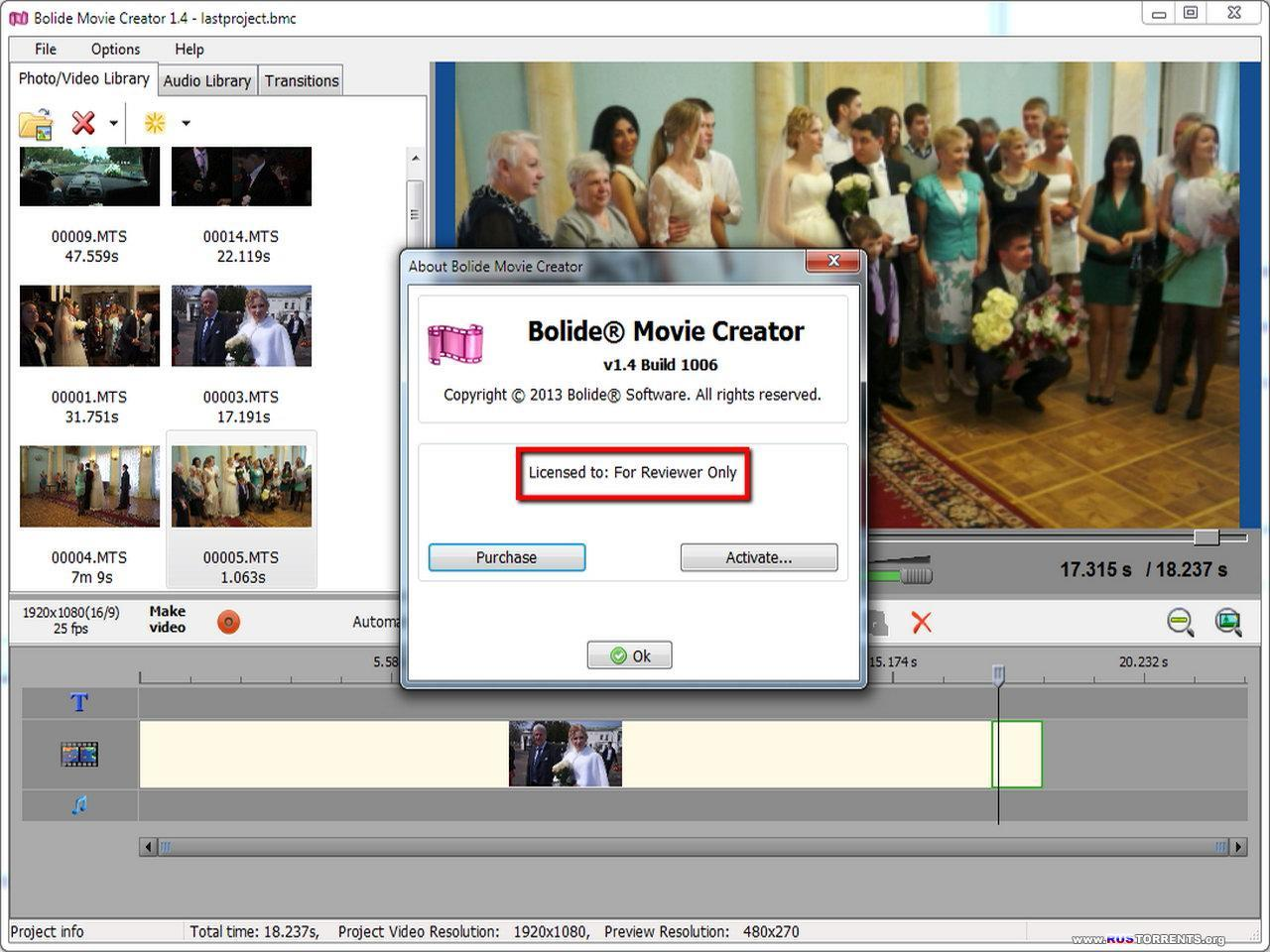 Bolide Movie Creator (Rus/Eng)