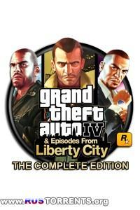 Grand Theft Auto IV - Complete Edition [v 1.0.7.0/1.1.2.0] | PC | SteamRip от Let'sPlay