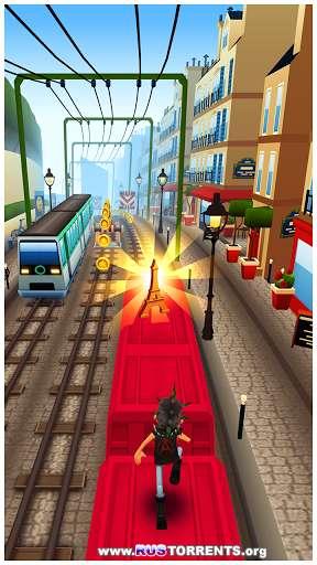 Тоннельные Серферы Париж[мод: много денег и ключей] v1.26.0 | Android