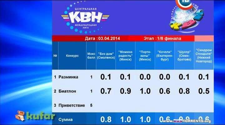 КВН 2014. Центральная Международная Лига / Первая 1/8 финала  | WEB-DLRip