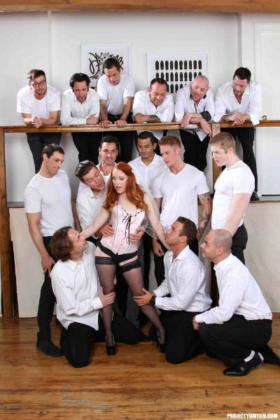[SwallowGuide.com / ProjectYumYum.com] Dani Jensen, Hope Howell (Dani Jensen's 15-Man All Holes-All Loads Mega Gangbang) (2015) SiteRip |