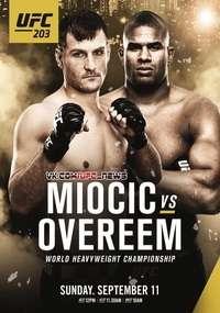 Смешанные единоборства - UFC 203: Miocic vs Overeem | WEB-DLRip