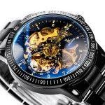 Alienwork IK Colouring 98226-12 Zifferblatt mit Uhrwerk und Zeigern