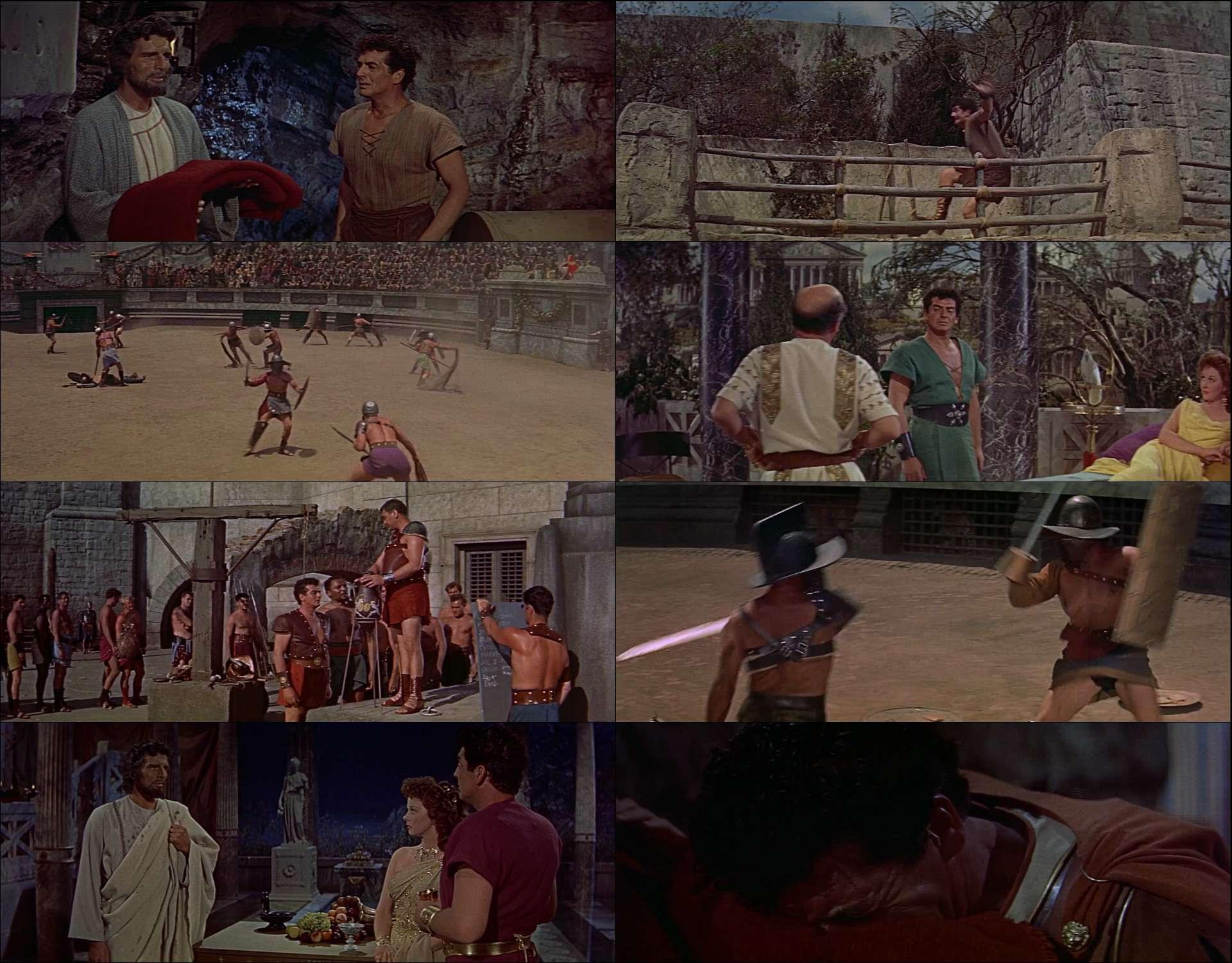 Kaplanların Pençesinde - Demetrius and the Gladiators (1954) türkçe dublaj film indir