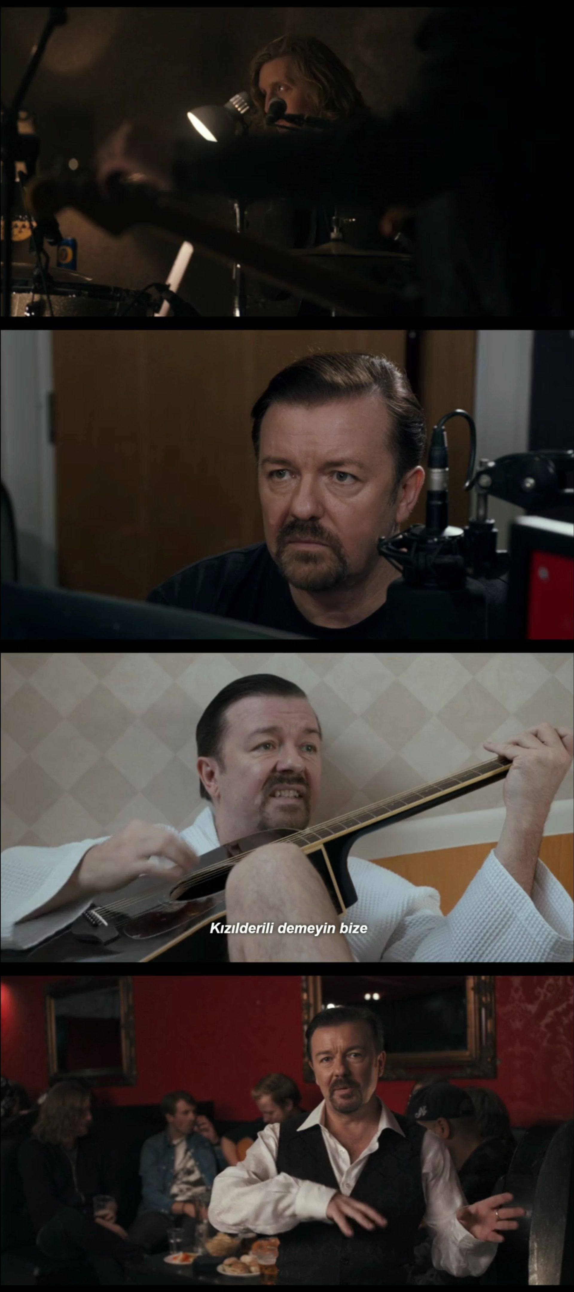 David Brent: Life on the Road (2016) türkçe dublaj film indir
