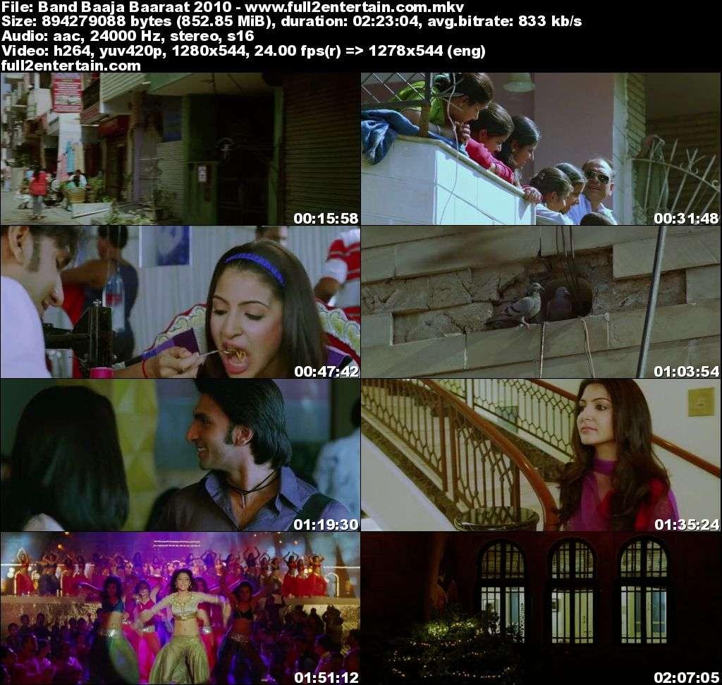 Band Baaja Baaraat 2010 Full Movie Free Download HD 800mb