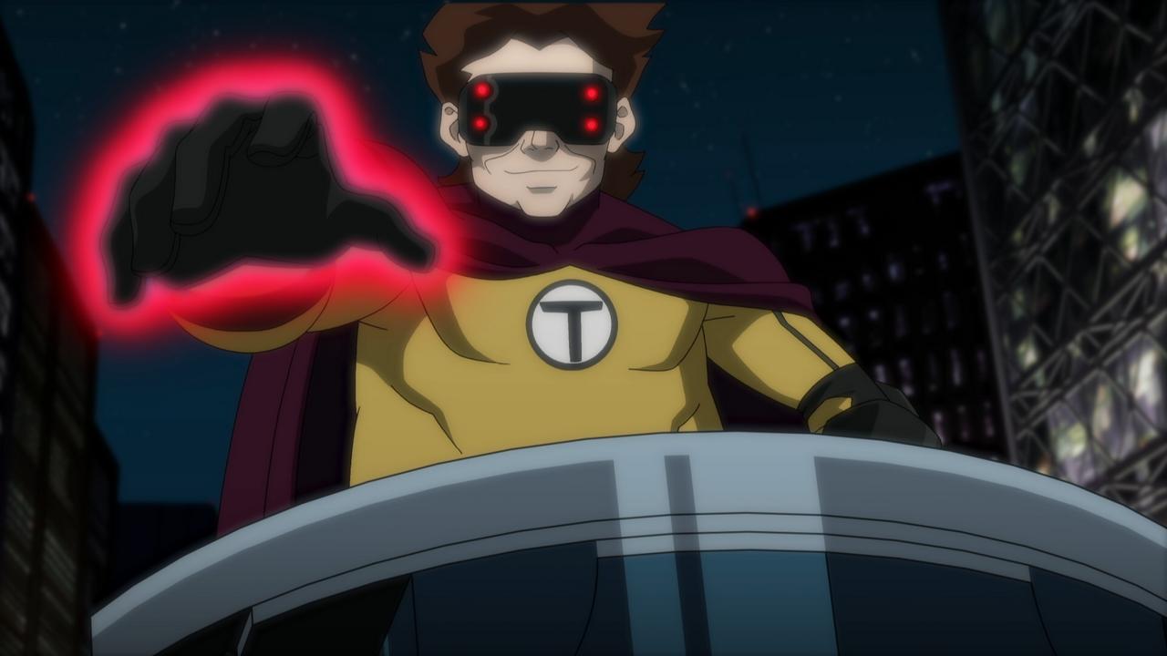 Лига Справедливости против Юных Титанов | BDRip 720p | P