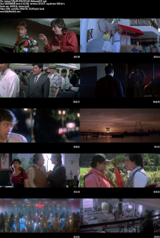 Judwaa (1997) 720p - HD-DVDRip - AVC - AAC-Bollywooda2z