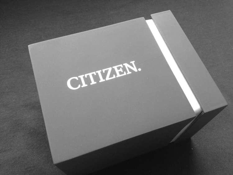 Die Verpackung - eine schicke Uhrenbox