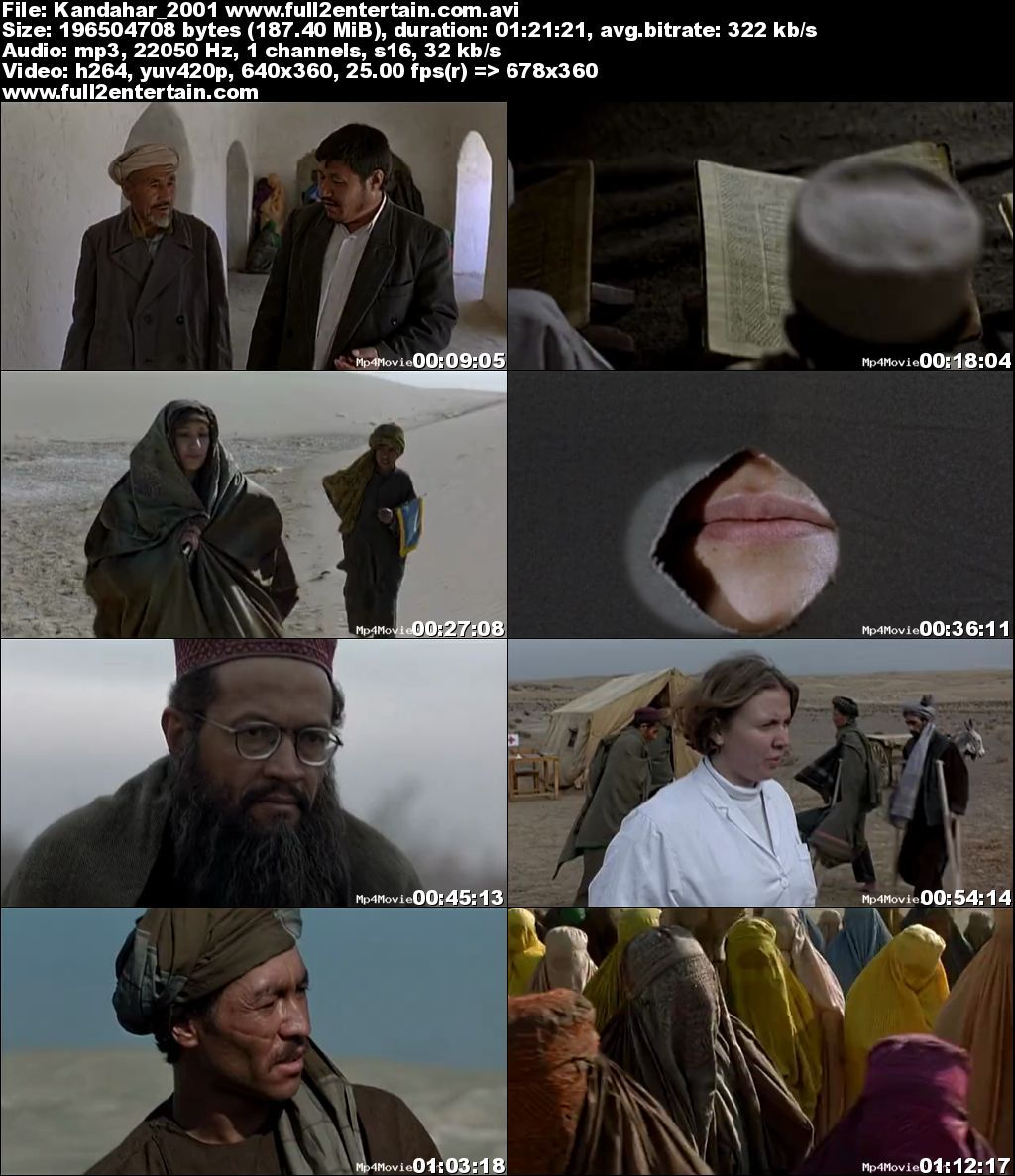 Kandahar 2001 Full Movie Download Free in Dvdrip 480p