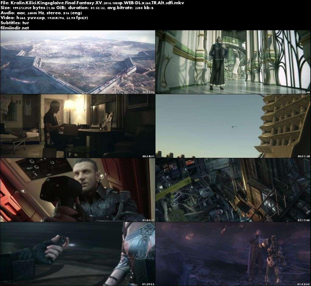 Kralın Kılıcı: Final Fantasy XV (2016) türkçe altyazılı film indir