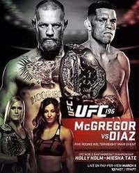 Смешанные единоборства - UFC 196 Конор Макгрегор — Нейт Диас / UFC 196 McGregor vs. Diaz | WEB-DL 720p