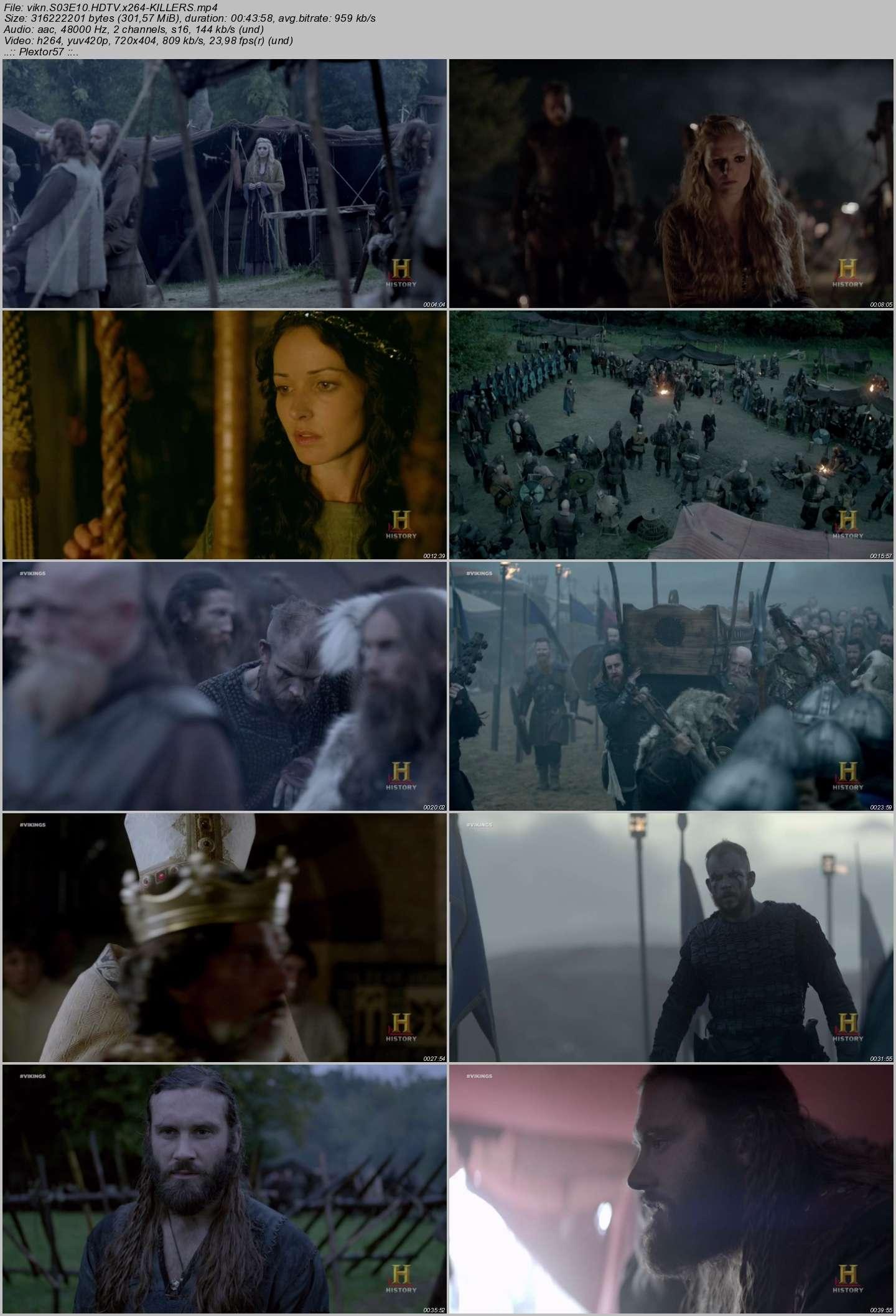Vikings - 3. Sezon - Tüm Bölümler - HDTV XviD